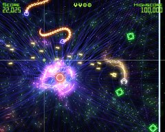 Screenshot - Geometry Wars: Retro Evolved