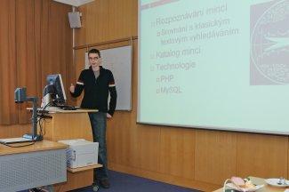 Já při prezentaci