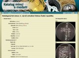 Internetový katalog mincí - katalogový list mince