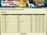 Internetový katalog mincí - administrace