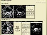 Internetový katalog mincí - výsledek vyhledávání