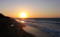 Sunset - Kremasti Beach - Rhodos Island