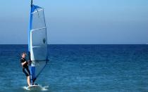 Rhodos Island - Kremasti Beach - Windsurfing