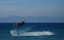 Rhodos Island - Kremasti Beach - Kiteboarding
