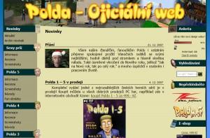 Nový design oficiálního Polda webu