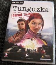 Tunguzka: Přísně tajné - obal